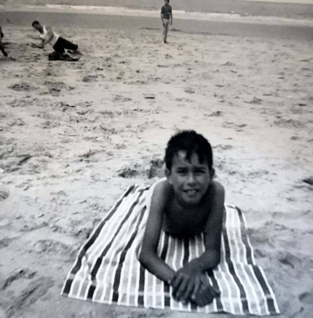 At the beach in Knokke-le-Zoute
