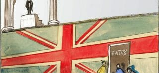 Britain's Brexit door
