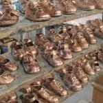 Children's brown shoes