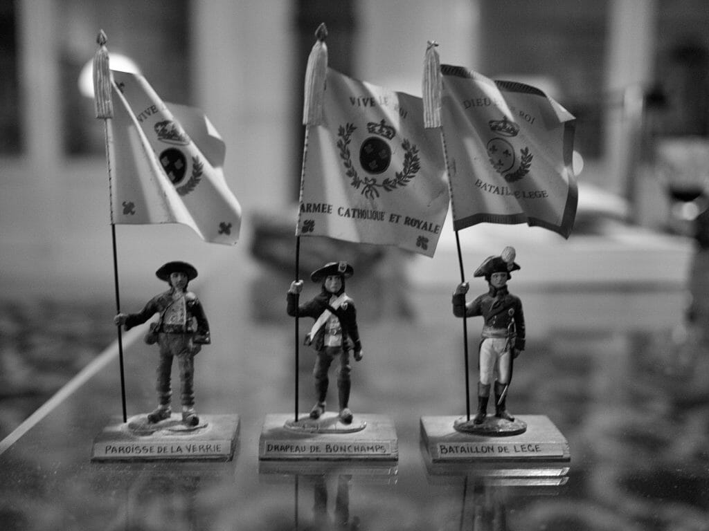French tin soldiers