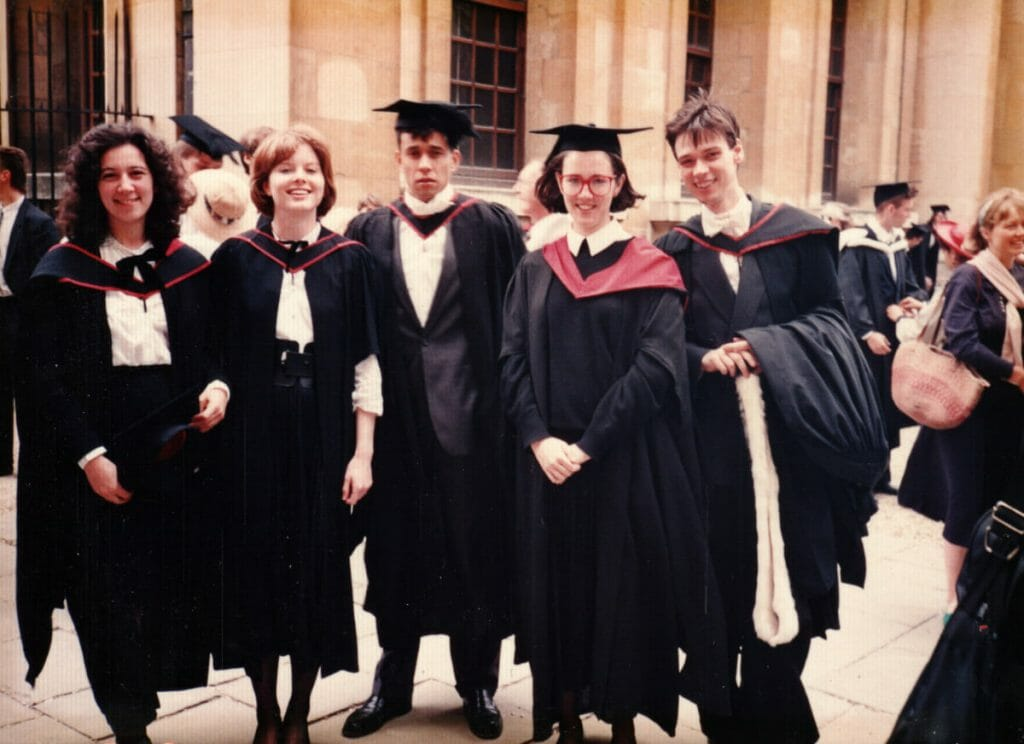 M.A. degree ceremony at the Sheldonian