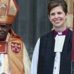 The Archbishop of York and Libby Lane